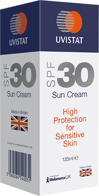 Uvistat SPF30 Sun Cream for Sensitive Skin