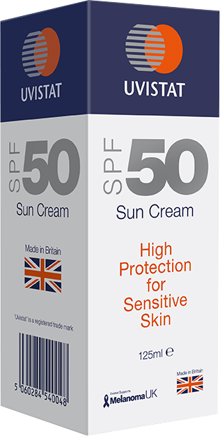 Uvistat SPF50 Sun Cream for Sensitive Skin