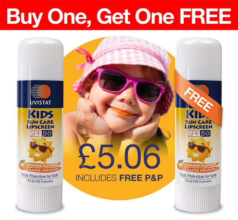 Uvistat Kids Sun Cream Offer